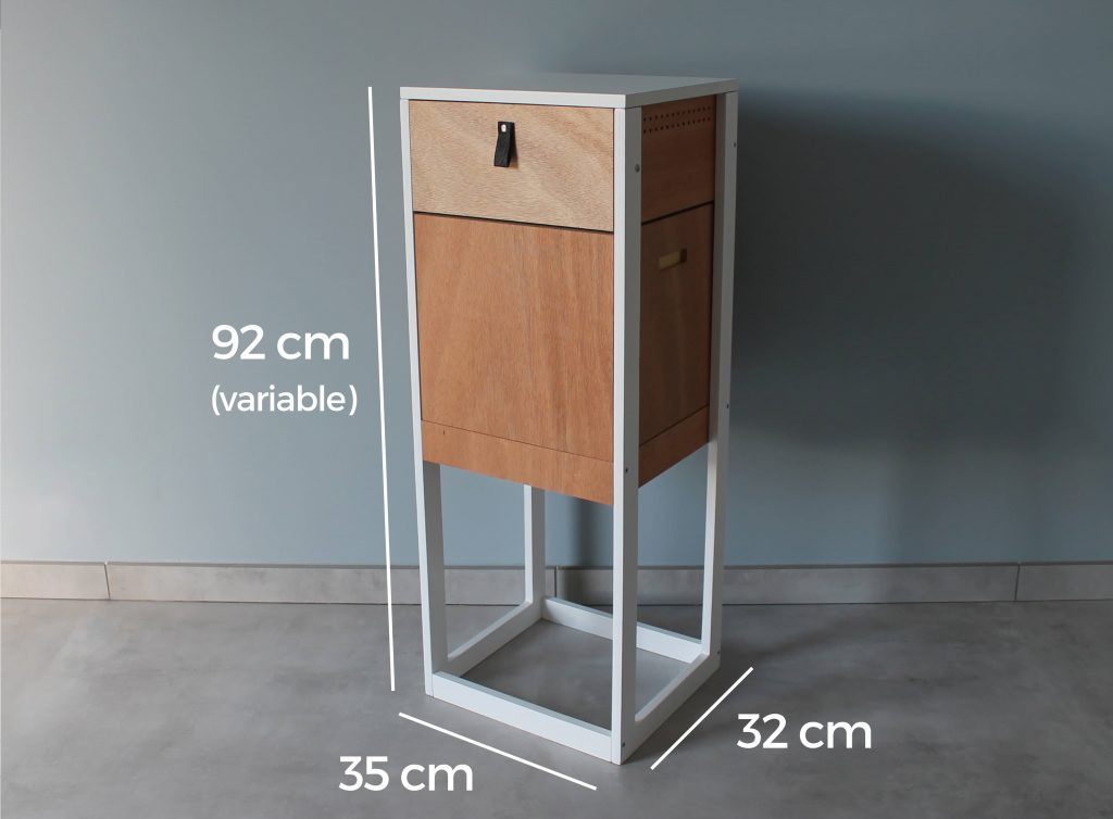 Lombrico permet de faire du lombricompostage dans tout type d'appartement